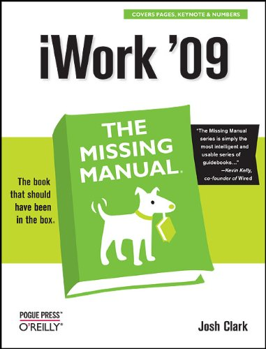 iWork &#39;09: The Missing Manual