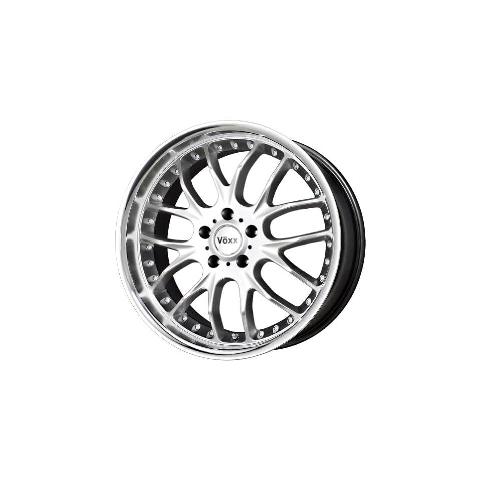 Voxx Maglia Hyper Silver Machined Wheel (17x8/5x114.3mm)