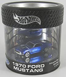 Hot Wheels 1970 Ford Mustang Oil Can Limited Edition 1:64 Scale Collectible Die Cast Car