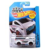 Vanster '14 Hot Wheels 10/250 (White) Vehicle