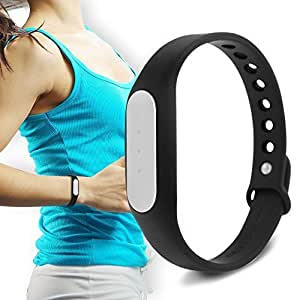 Bluetooth Wristband Fitness Tracker Band( 2 Year warranty) Compatible with Intex Aqua Y2