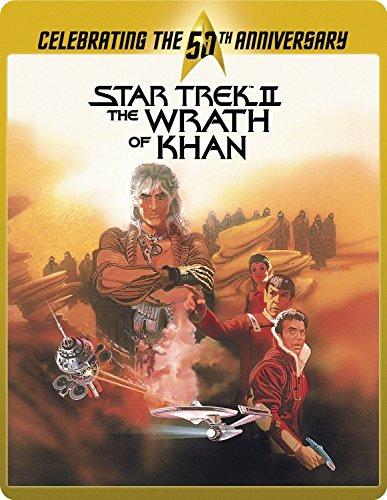 Star Trek 2 - The Wrath Of Khan Director's Cut - Limited Edition 50th Anniversary Steelbook [Blu-ray] [2015]