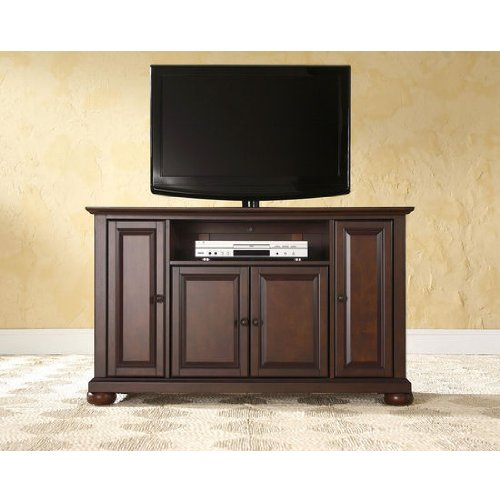 Crosley Furniture Alexandria 48-Inch Tv Stand, Vintage Mahogany