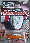 Hot Wheels Team Baurtwell WHIPS Old School '69 Dodge Charger ORANGE