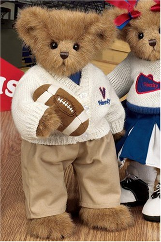 51y1u PYiYL Buy  Bearington Collection Victor Varsity Football Bear