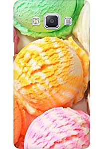 AMEZ designer printed 3d premium high quality back case cover for Samsung Galaxy A5 (ice cream)