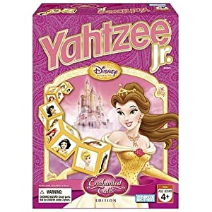 Disney princesses games: Yahtzee Jr.!