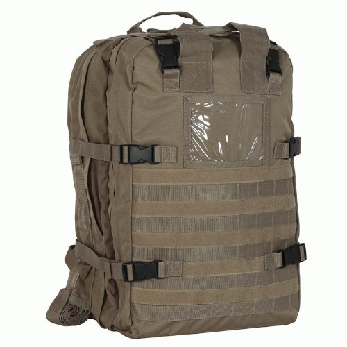 Voodoo Tactical Deluxe Professional Special Ops Field Medical Pack - Coyote Brown / Tan 15-8174