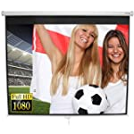 Jago BELE05 Pull-down Projector Scree...