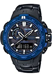 CASIO Watch PROTREK Triple Sensor Ver.3 equipped with the World Six Stations Corresponding Solar Radio PRW-6000SYT-1JF Men