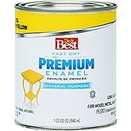 Rust Oleum 2209 Do it Best Premium Latex Enamel-SUN YELLOW LATEX ENAMEL