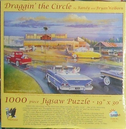 Draggin' The Circle 1000pc Jigsaw Puzzle by Randy Welborn - 1