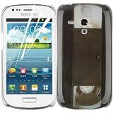 JAMMYLIZARD | Vintage Back Cover Hülle für Samsung Galaxy S3 Mini, VIDEOKASSETTE