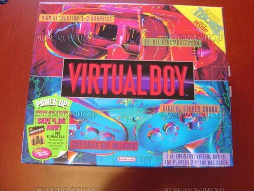 Nintendo Virtual Boy - Video Game Console