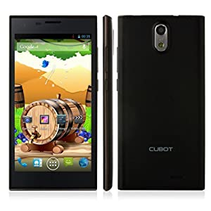 Cubot S308 Smartphone 2GB 16GB MTK6582 Android 4.2 5.0 Inch HD OGS Screen- Black