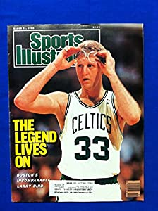 1988 Sports Illustrated Mar 21 Larry Bird - the Legend Lives On Boston Celtics Near-Mint