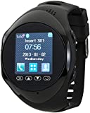 Victory Wireless Bluetooth Smartwatch with Sync Calls, Black