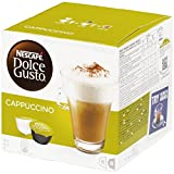 Nestle 'cappuccino' for Dolce Gusto coffee capsules (16 Capsules)