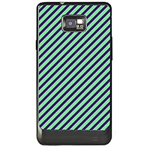 Skin4gadgets STRIPES PATTERN 10 Phone Skin for SAMSUNG GALAXY S2 (I9100)