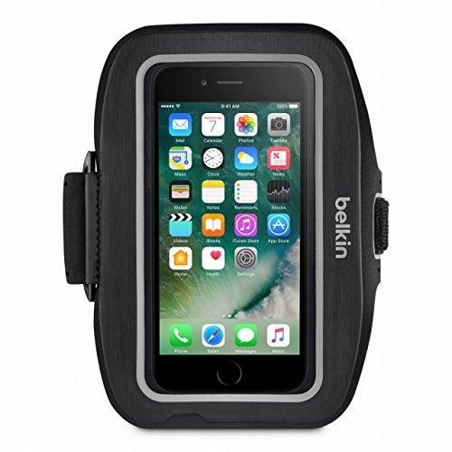【国内正規代理店品】belkin ベルキン iPhone 7 用Sport-Fit Plusアームバンド(ブラック)F8W796BTC00-A F8W796BTC00-A