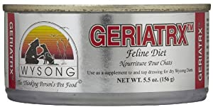 Wysong Geriatrx Feline Diet Canned Cat Food