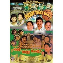 Shoot that ball/ I have three hands - Philippines Filipino Tagalog DVD Movie