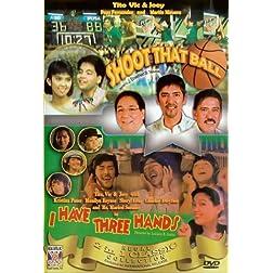 Shoot that ball/ I have three hands - Philippines Filipino Tagalog DVD Movie