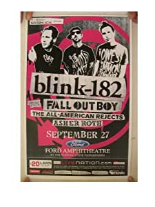 Blink 182 Poster - Concert 09 Reunion Enema of the State