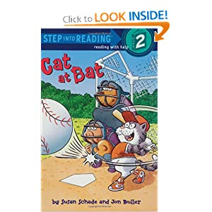 Cat at Bat (Step-Into-Reading, Step 2) by Susan Schade