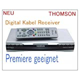 "Thomson Digitaler Kabel-Receiver DCI 1500K/G mit Fernbedienungvon ""Thomson"""