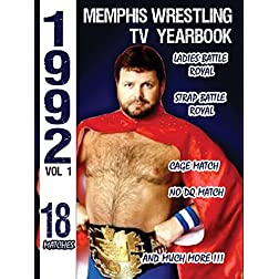 1992 Memphis Wrestling TV Yearbook Vol 1