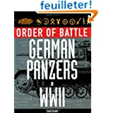 Order of Battle German Panzers in WWII