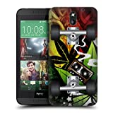 Head Case Designs Reggae Skateboards Protective Snap-on Hard Back Case Cover for HTC Desire 610