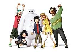 Disney BIG HERO 6 Movie Characters Cast Pillow Case Pillowcase Standard 20 X 30\