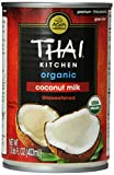 Thai Kitchen Organic Coconut Milk, Premium, First Pressing, 13.66-Ounce Cans (Pack of 12)