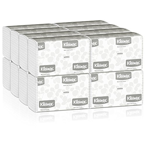 kleenex-multifold-paper-towels-01890-white-case-of-16-packs-150-tri-fold-paper-towels-per-pack-2400-