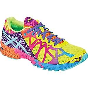 ASICS Women's Gel-Noosa Tri 9 Running Shoe,Flash Yellow/Turquoise/Berry,5 M US