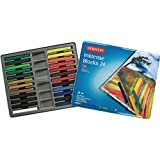 Derwent Drawing Supplies, Inktense, Ink Blocks, 4mm Core, Metal Tin, 24 Count (2300443)