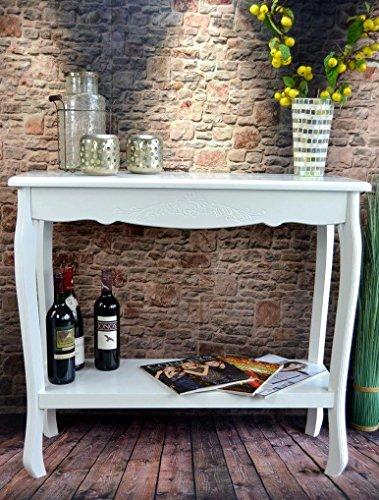 Tischkonsole-Konsolentisch-Beistelltisch-Anrichte-barock-Wei-Sideboard-LV4053