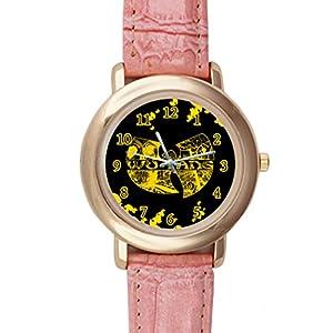 Time Walker Men's Easy to Read CSDR0621691 Wu Tang Clan 1992 Display Analogue Black Dial Bracelet Watch