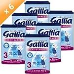 GALLIA Croissance 900g (x6)