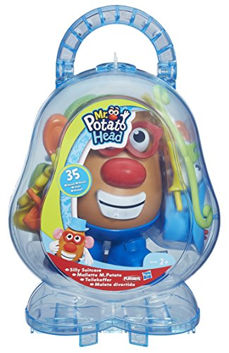 Playskool mr potato head silly suitcase luggage bags suitcases
