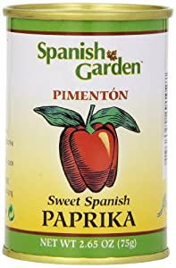 Spanish Garden Sweet Spanish Paprika, 2.65-Ounce Cans (Pack of 6)