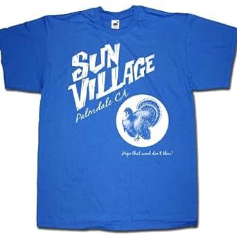 "Sun Village T shirt - for Frank Zappa hardcore afficionados! ""Hope That Wind ..."