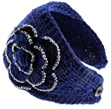 HB-26 NY Deal Knit Winter Headband Ear Warmer, Various Colors Available