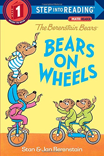 The Berenstain Bears Bears on Wheels (Step into Reading) (Bear On Wheels compare prices)