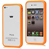 Original iCoverIt BUMPER f�r Apple iPhone 4 / 4S in NEONORANGE