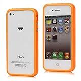 Original iCoverIt BUMPER für Apple iPhone 4 / 4S in NEONORANGE