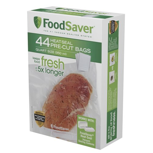 FoodSaver 44 Quart-sized Bags