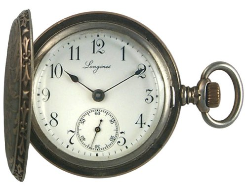Longines Antique Hunter Womens Pocket / Pendant Watch 1905